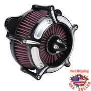 Air Cleaner Intake Filter For Harley Touring Road King Electra Glide Dyna 08-16