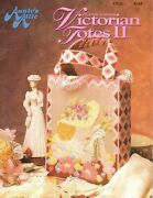 Victorian Totes Ii Dog Roses Fan Heart 6 Designs Plastic Canvas Pattern Book