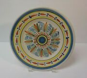 19th C. H R Quimper French Faience Salt Glaze Pottery 9 Plate 2