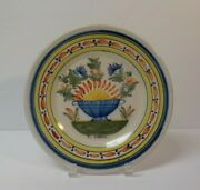 19th C. H R Quimper French Faience Salt Glaze Pottery 9 Plate 3