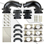 Mercruiser Exhaust Riser Kit 6 With Elbows 6 Inch 862354a1 862354a04