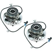 Set-tmsp550307 Timken Set Of 2 Wheel Hubs Front Driver And Passenger Side New Pair
