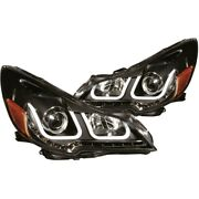 111285 Anzo Headlight Lamp Driver And Passenger Side New Lh Rh For Subaru Legacy