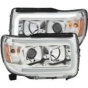 111382 Anzo Headlight Lamp Driver And Passenger Side New Lh Rh For Gmc Canyon