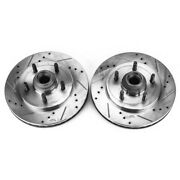 Ar8584xpr Powerstop 2-wheel Set Brake Discs Front Driver And Passenger Side New