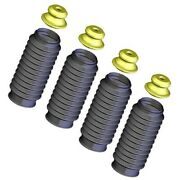 Set-kysb103 Kyb Shock And Strut Boots Set Of 4 Front And Rear New For Chevy 240