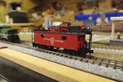 Durham And Southern X84 N-scale Custom Painted Caboose