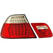321185 Anzo Tail Lights Lamps Set Of 2 Driver And Passenger Side New For 323 Pair