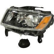 68110997ad Headlight Lamp Driver Left Side New Lh Hand For Jeep Grand Cherokee