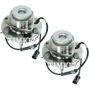 Set-tmha590307 Timken Set Of 2 Wheel Hubs Front Driver And Passenger Side New Pair