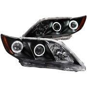 121181 Anzo Headlight Lamp Driver And Passenger Side New Lh Rh For Toyota Camry