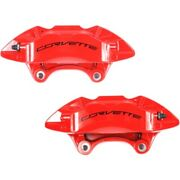 Set-ac1722608-f Ac Delco Brake Calipers 2-wheel Set Front Driver And Passenger New