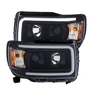 111381 Anzo Headlight Lamp Driver And Passenger Side New Lh Rh For Gmc Canyon