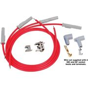 31159 Msd Spark Plug Wires Set Of 4 New For Chevy Somerset Citation S10 Pickup