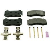 Pst-1298 Powerstop Brake Pad Sets 2-wheel Set Front New For Jeep Grand Cherokee