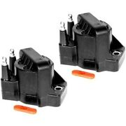 Set-acd555-2 Ac Delco Ignition Coils Set Of 2 New For Chevy Olds Le Sabre Pair