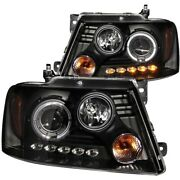 111028 Anzo Headlight Lamp Driver And Passenger Side New For F150 Truck Lh Rh Ford