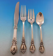 Stanton Hall By Oneida Sterling Silver Flatware Set For 8 Service 35 Pieces
