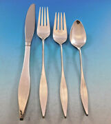 Lark By Reed And Barton Sterling Silver Flatware Set For 8 Service 40 Pieces