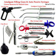 Anesthetic Syringe Intraligamental Pistol Auto Crown Remover Chip Blower Lab