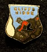 Cliffs Ridge Lost Name 1957-82 Now Marquette Mtn Skiing Pin Michigan Travel