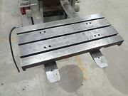 35.5 X 16 X 7.5 Cast Iron T Slotted Steel Table Welding Layout 3 Slot