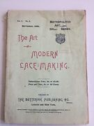 The Art Of Modern Lacemaking By Butterick - Vintage -september 1896