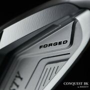 Maruman Golf Japan Majesty Conquest Bk Forged Irons 56789pw Nspro 2021c