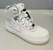Nike Lunar Force 1 Duckboot Shoes Size 5y White Boys Girls Youth Sneakers New