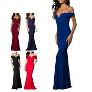 Ever-pretty Elegant Long Brgundy Formal Evening Prom Party Dresses Ball Gowns