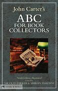 Abc For Book Collectors By John Carter|nicolas Barker|simarn Thadani Hardcover