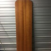 Boat Cabin Door Interior Heavy Wood Marine Round Top Used Flaws See Pic 70-1/2andrdquo