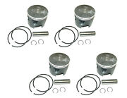 Piston Set Set 4 Mercury L4 115 125 You Pick Size Vertex 821896a4
