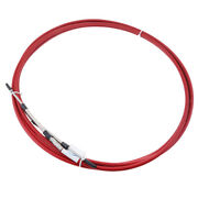 10ft Shift Control Cable For Marine Boat Throttle Control Lever Red