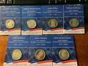 Seven Us Mint Presidential 1 Individual Proof Coin Lot