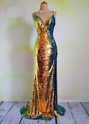 Sequin Prom 2020 Evening Pageant Formal Ball Gala Dress Wedding Gown 4 Mirage