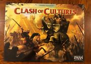 Clash Of Cultures Board Game Z-man Games Brand New In Shrink - Oop Rare