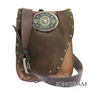 Hunting World Taos Taos Collection Western Buckle Limited Antique Finish Bro...