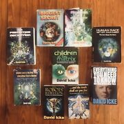 Lot Of 9 David Icke Esoteric Occult Alchemy Metaphysical Conspiracy Globalist