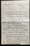 1942 Australia Apostolic Legation Letter Cover To Stalag 18a Germany