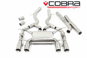 Cobra 3 Secondary Cat Back Exhaust Valved For Bmw M4 F82 Coupe