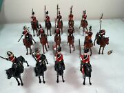 Vintage Britains Toy Soldiers English Cavalry