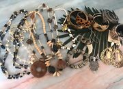 Animal Print Tribal Jewelry Mixed Lot Assorted Bracelets Necklaces Fashion