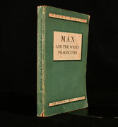 1938 Max And The White Phagocytes Henry Miller First Edition