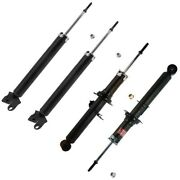 Set-ky340092-c Kyb Shock Absorber And Strut Assemblies Set Of 4 New Lh And Rh