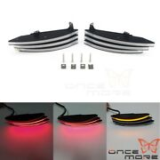 Led Integrated Turn Signal Lights Tail Light For Ducati Diavel Amg Carbon Dark