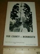 1974 League Of Women Voters Of Monmouth County New Jersey Battle Monument Book
