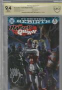 Harley Quinn 1 Cbcs 9.4 Signed By Amanda Conner And J. Pamiotti