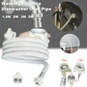 17mm 18mm Universal Washing Machine Inlet Pipe Home Water Connection Washer Hose