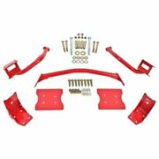 Bmr Suspension Tbr004r Torque Box Reinforcement Plate Kit For Ford Mustang New